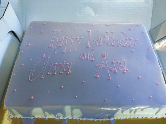 Purple drip cake..