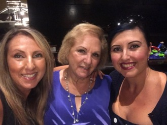 Sis, Mom and me