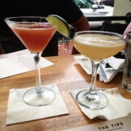 High N Tight (mine) and the Ango Daiquiri Time Out (his)