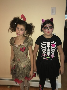 For Halloween party 1..the Voodoo Doll and Sugar Skull Cat