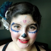 Party number 3- Sugar Skull (because of course)