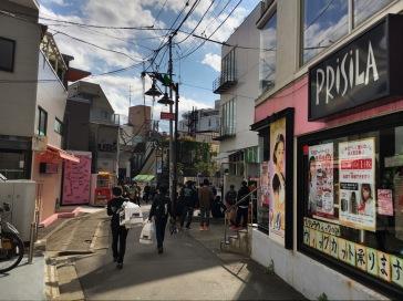 Walking Harajuku
