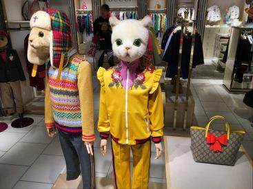 Cute mannequins