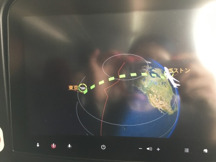 The virtual map of the flight...look at the pattern we flew!