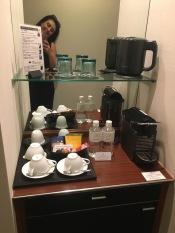 Keio Plaza Tokyo Room 3260 - Nespresso TYVM