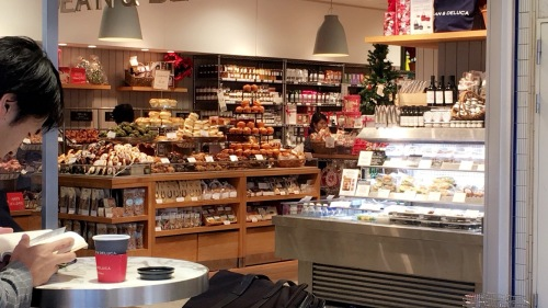 Then we found Dean and Deluca! CRAZZZZZZY how much food is in this photo in person