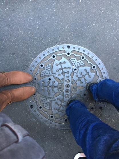 Even their sewer covers were beautiful
