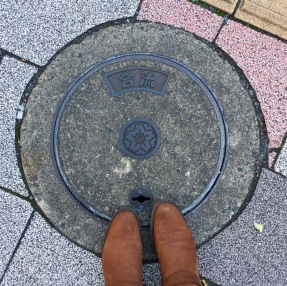 Every sewer cover was beautiful