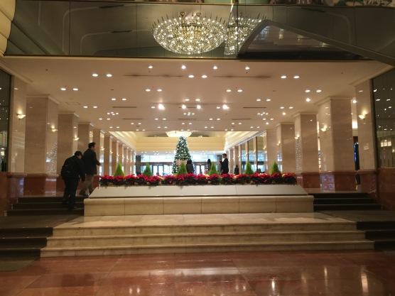 Keio Plaza Tokyo Lobby
