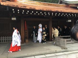 Then a THIRD wedding!!