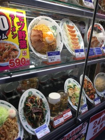 Plastic Japanese food
