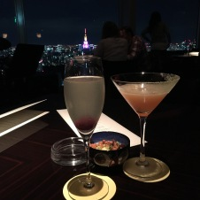 New York Bar french 57 and sidecar