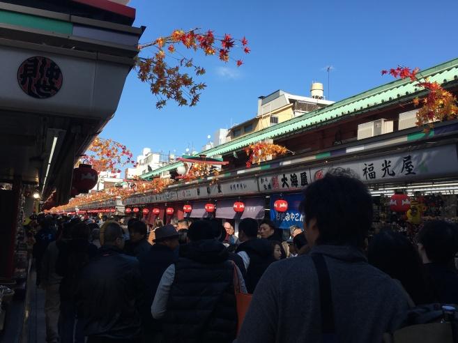 Asakusa Sensoji Temple Market