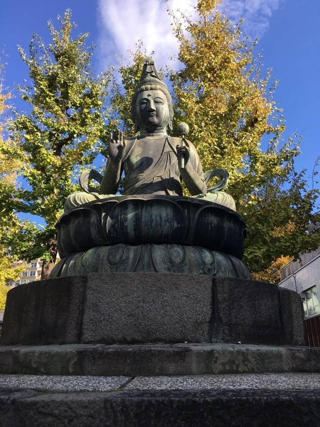 Asakusa Sensoji Temple Buddha