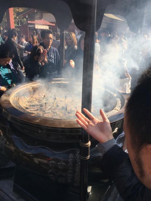 Asakusa Sensoji Temple incense burner