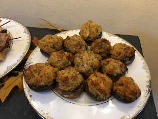 My stuffed mushrooms