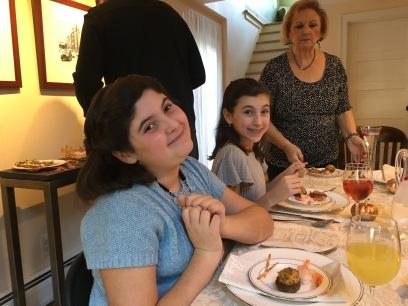 my girls love to eat.