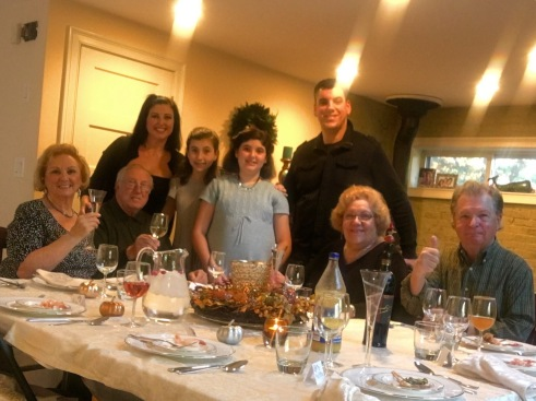 Happy Thanksgiving from my family to yours (missing a lot of people here)