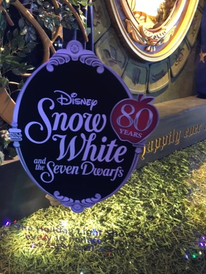 Saks Window of the 80th anniversary of Snow White
