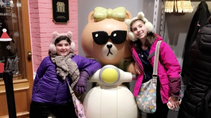 Line Friends IN NYC!