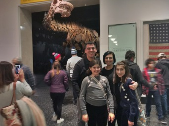 this beast is huge...the dino not my husband :)