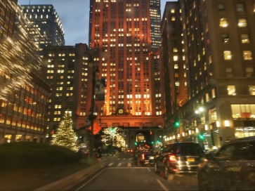 Uber to Herald Sq to check out Lord n Taylor and Macy's