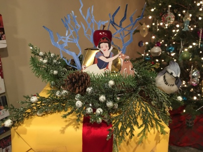 Snow White theme wrapping paper