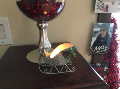 My baby girl gave me this tea light :)
