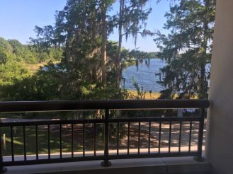 View from Bay Lake Tower Room