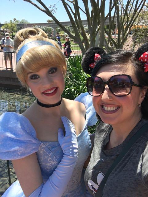 My first selfie w a Princess. :)