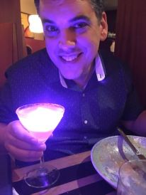 He loves his light up drinks hahah Just like our daughters