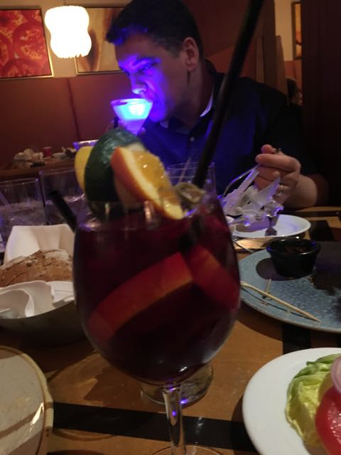 oh, now a Sangria oh yeah