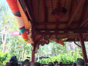 Flame Tree BBQ seating area
