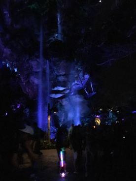 Pandora at night was spectacular.