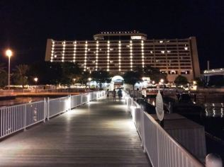 Contemporary Resort Docks