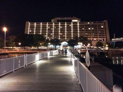 Contemporary Resort Docks