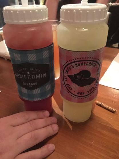 22oz sippy bottles? okie dokie! $10 refills? I AM GAME!