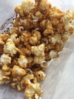 Caramel popcorn in Germany