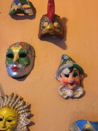 and my fav Pinocchio, and the gallina mask, i love chickens.