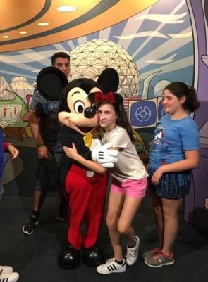Meeting Mickey!