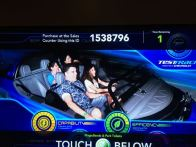 Test track with fireworks was awesome!