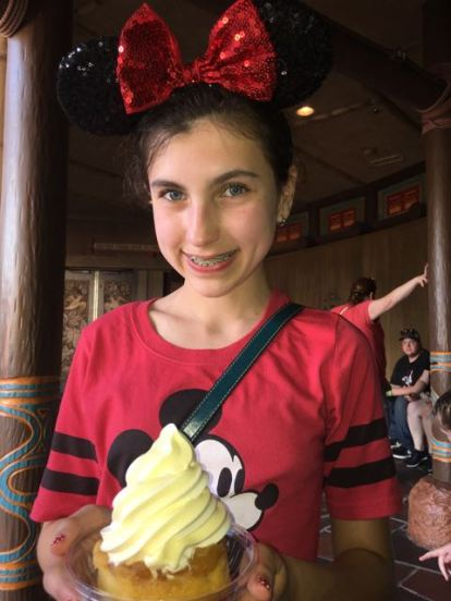 Dole Whip with Pineapple Upside down cake