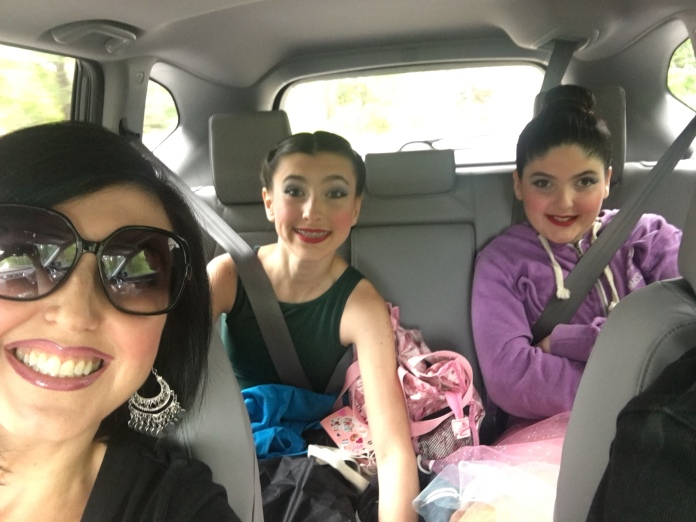 Off to dance recital we goooOOOooo