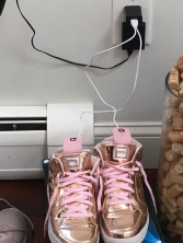 Doesn't everyone charge their sneaks??
