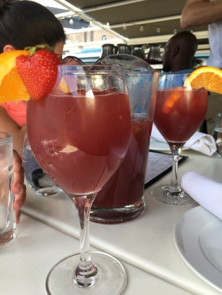 Sangria for you, sangria for me...my gosh it was the best sangria on a sunny day ever.