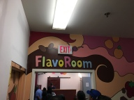 to the flavor room
