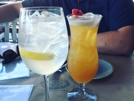 White sangria and endless summer