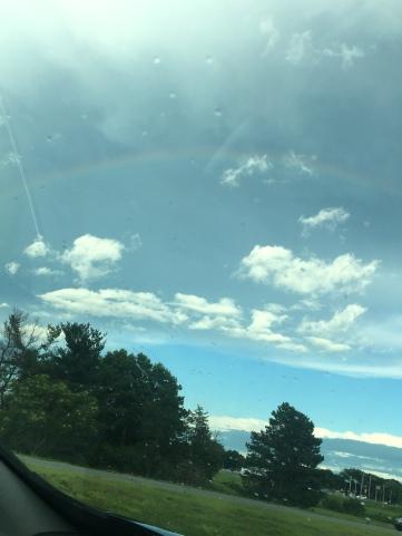 Rainbow on the way home