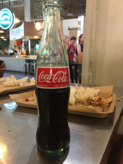 Whenever we can, we grab one.. best thing is coca cola from Mexico