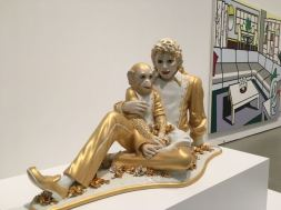 Michael Jackston statue - The Broad